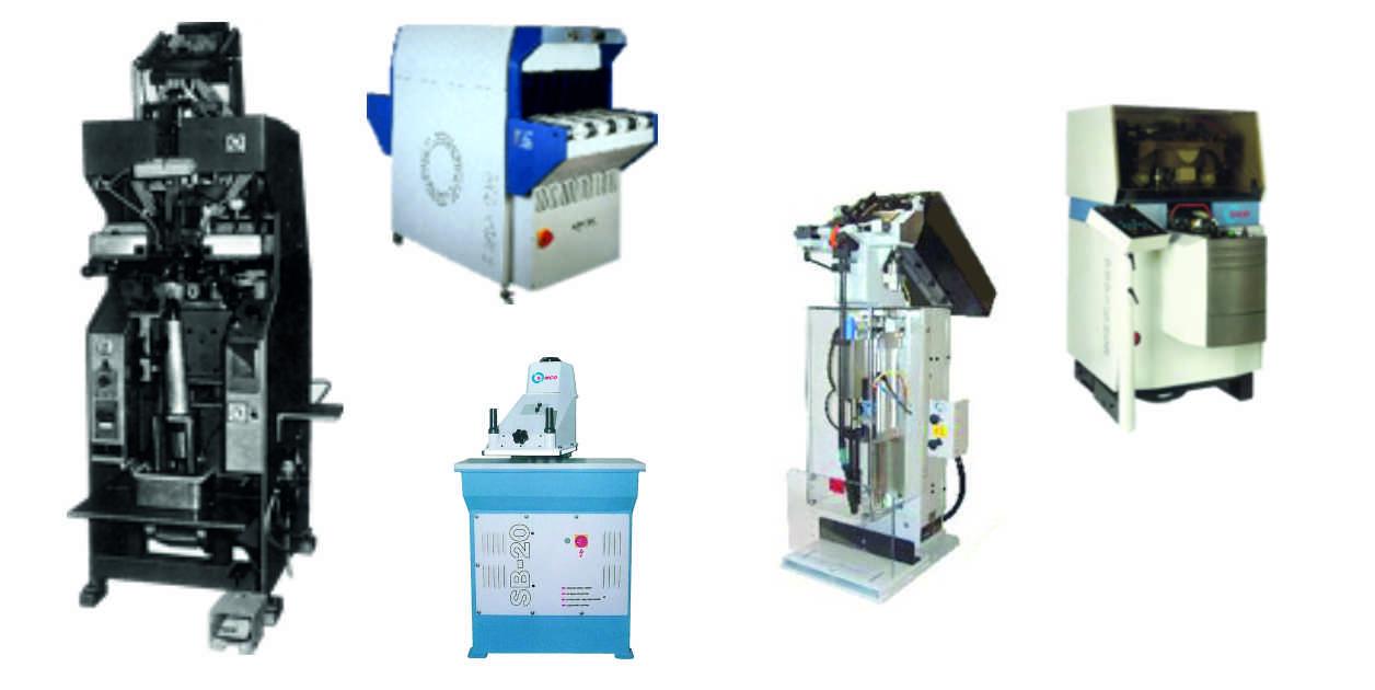 gebrauchte Maschinen der Hersteller DVSG BUSM USM POWASERT, wie z. B. DVHZ, DVFS, DVTZ, BUHL, SB-25, SB-20, SB25 SB 20, ADS-MF, ADS-MF2, ADS-MF4, ADS-SE1